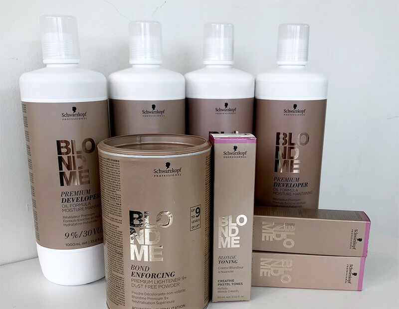 Schwarzkopf Blonde Me Products